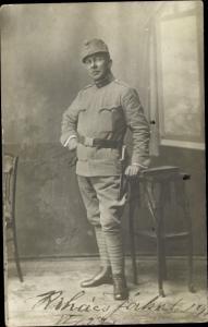Foto Ak KuK Soldat in Uniform