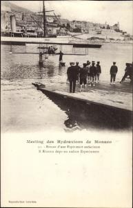 Ak Monaco, Meeting des Hydravions, Retour d'une Experience audacieuse, Wasserflugzeug