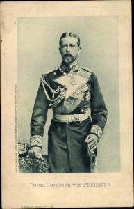 Ak Prinz Albert Wilhelm Heinrich von Preußen