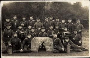 Foto Ak Soldaten in Uniformen, Sommelager 1916, I. WK