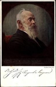 Künstler Ak Firle, Walther, Prinzregent Luitpold von Bayern