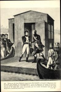 Künstler Ak Napoleon Bonaparte, Kaiser Napoleon I.