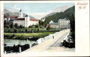 Ak Lilienfeld in Niederösterreich, Brückenpartie
