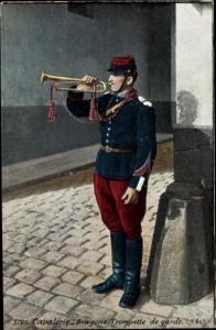 Ak Cavalerie, Dragons, Trompette de Garde