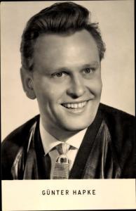 Ak Schauspieler Günter Hapke