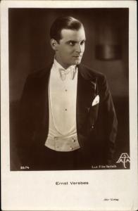 Ak Schauspieler Ernst Verebes