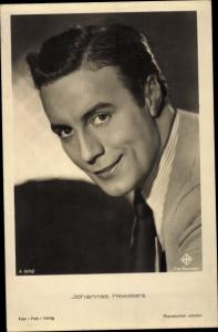 Ak Schauspieler Johannes Heesters