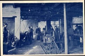 Ak Nordstemmen in Niedersachsen, Fabrikarbeiter, Maschinen