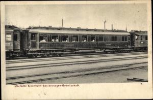 Ak Deutsche Eisenbahn Speisewagen Gesellschaft