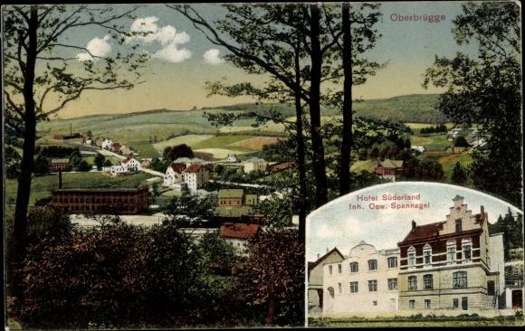 Ak Oberbrügge Hotel Süderland, Stadt Halver, Märkischer Kreis, Sauerland 0