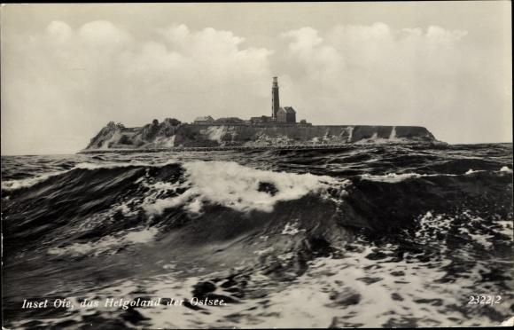 Ak Greifswalder Oie Kröslin, Ostsee, Panorama vom Meer gesehen 0