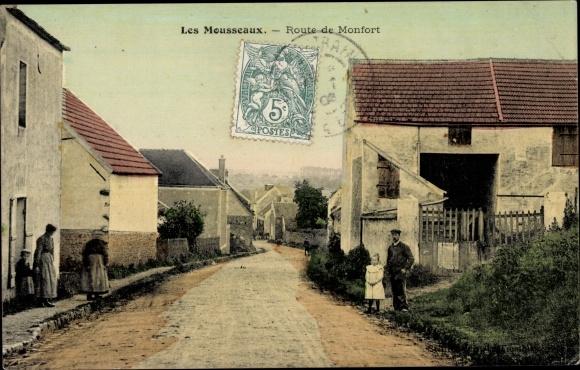 Ak Bourg en Bresse Ain, Route de Monfort 0