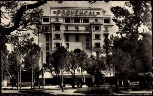 Foto Ak Juan les Pins Alpes Maritimes, L'Hôtel Provencal