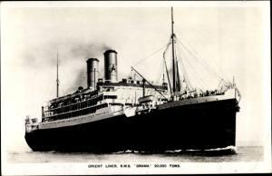 Ak Dampfer RMS Orama, Orient Line