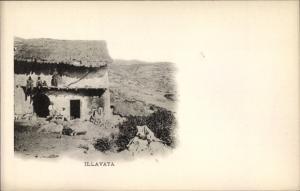 Ak Illavaya Bolivien, Blick auf Ortschaft und Umgebung