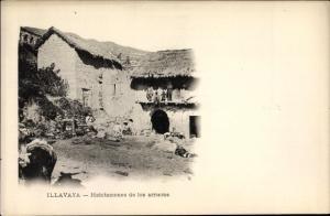 Ak Illavaya Bolivien, Habitaciones de los arrieros, Dorfansicht