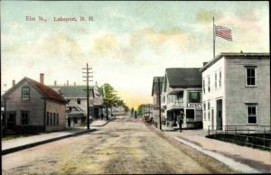 Ak Lakeport New Hampshire USA, general view of the Elm street