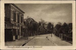 Ak Barneveld Gelderland, Straßenpartie