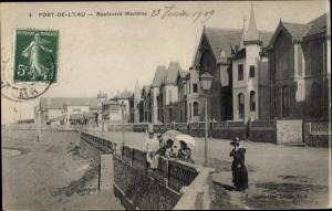 Ak Burj-al-Kiffan, Fort de l´Eau Algerien, Boulevard Maritime