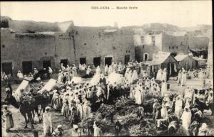 Ak Sidi Okba Algerien, Marché Arabe
