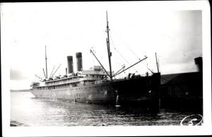 Ak Dampfer SS Governor, Pacific SS Co