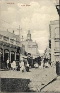 Ak Tanger Marokko, Main Street, Grand Magasin de Nouveautes