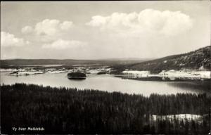 Ak Malaaträsk Malaa Schweden, Seenlandschaft