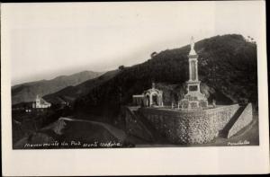 Ak Insel Madeira Portugal, Monumento da Paz, Monte Madeira