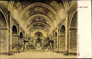 Ak Valetta Malta, St Johns Church