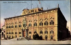 Ak Valetta Malta, Auberge de Castille