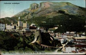 Ak Monaco, Palais du Prince et Tete de Chien