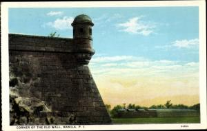 Ak Manila Philippinen, Corner of the Old Wall