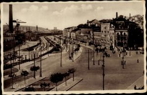 Ak Lisboa Lissabon Portugal, Avenida 24 de Julho