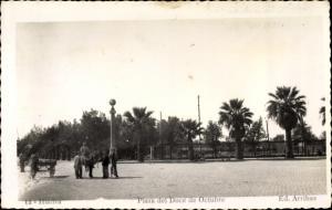 Ak Huelva Andalusien Spanien, Plaza del Doce de Octubre