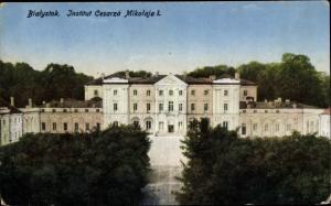 Ak Białystok Polen, Institut Cesarza Mikolaja I.