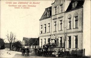 Ak Zühlsdorf Mühlenbecker Land, Gasthaus zum alten Hirtenhof, Inh. G. Schröder