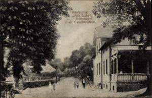 Ak Frohnsdorf Treuenbrietzen in Brandenburg, Restaurant Alte Eiche