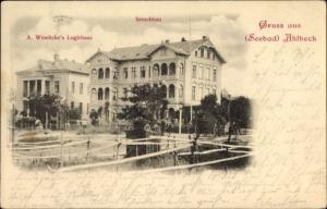 Ak Ostseebad Ahlbeck Heringsdorf Usedom, A. Wendicke's Logierhaus, Seeschloss