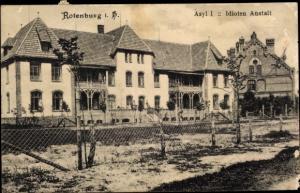 Ak Rotenburg an der Wümme, Asyl I, Idiotenanstalt
