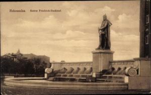 Ak Inowrocław Hohensalza Posen, Kaiser Friedrich Denkmal