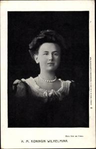 Ak Königin Wilhelmina der Niederlande