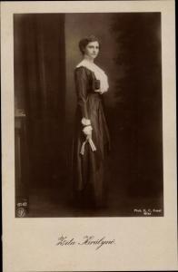 Ak Erzherzogin Zita von Bourbon Parma, Kaiserin von Österreich