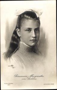 Ak Prinzessin Margarethe von Sachsen, Photochemie Berlin 3211