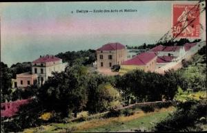 Ak Delles Dellys Algerien, Ecole des Arts et Métiers