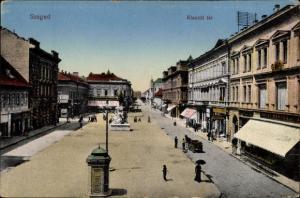 Ak Segedin Szeged Ungarn, Klauzal ter
