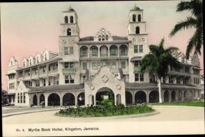 Ak Kingston Jamaika, Myrtle Bank Hotel