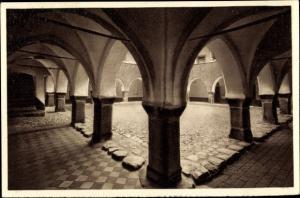 Ak Lidzbark Warmiński Heilsberg Polen, Schlosshof
