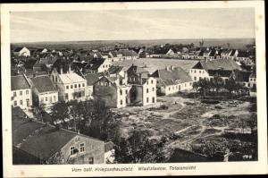 Ak Władysławów Wladislawow Polen, Panorama, östlicher Kriegsschauplatz