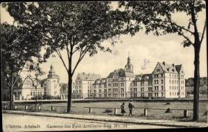 Ak Kostrzyn nad Odrą Cüstrin Ostbrandenburg, Altstadt, Kaserne Feld Artillerie Regt. No. 54