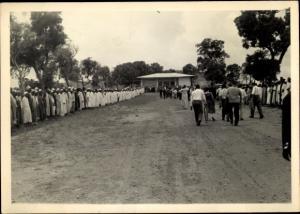Foto Ak Kindia Guinea, Défilé